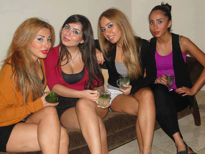 4 persian hotties